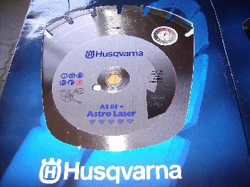Husqvarna Diamantscheibe AS 85 + Astro Laser